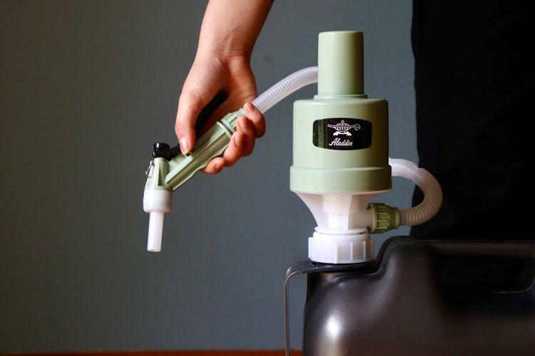 アラジン灯油ポンプ
