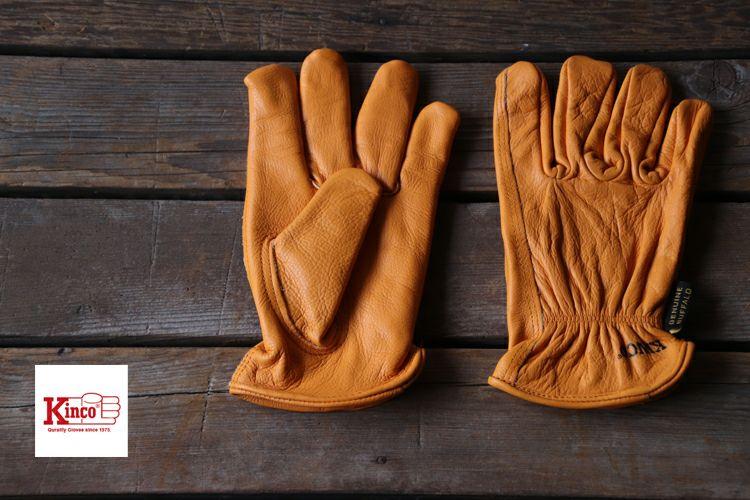Kinco Gloves キンコグローブ 81 水牛革